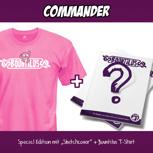 "Commander – Special Edition ""Sketchcover"" + T-Shirt"