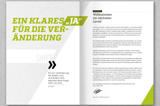 SHIFT - Das Magazin mit Hirn, Herz und Horizont
