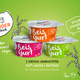Reisgurt 24er (Becher) Vegan-Party-Pack