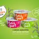 Reisgurt 24er (Becher) Vegan-Party-Pack