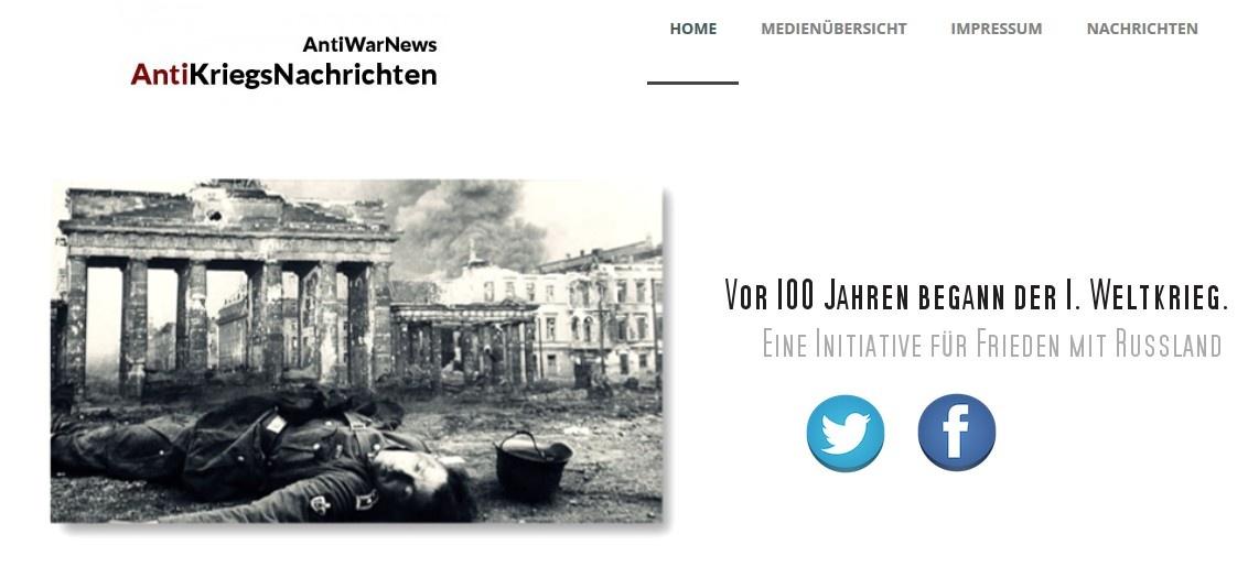 """2000 Plakate """"Frieden mit Russland"""" in Berlin"""