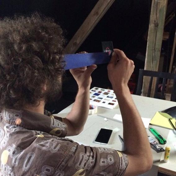 Ein Stereoskopie & VR Workshop + Fanpack COSMOTIC + Sound of COSMOTIC