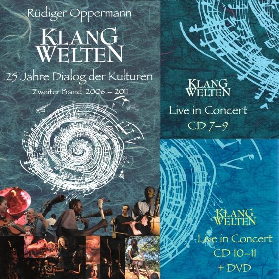 "The fantastic huge Audio-Book ""KLANGWELTEN - 25 YEARS DIALOGUE OF CULTURES"". (german version)"
