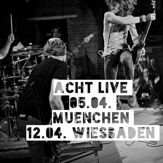 VIP Gästeliste 12.04. ACHT live in WIESBADEN