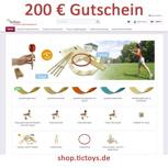 200€ Gutschein für shop.TicToys.de
