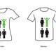 """T-Shirt mit """"Hochbegabung leben""""-Design (nur als Dankeschön erhältlich)"""