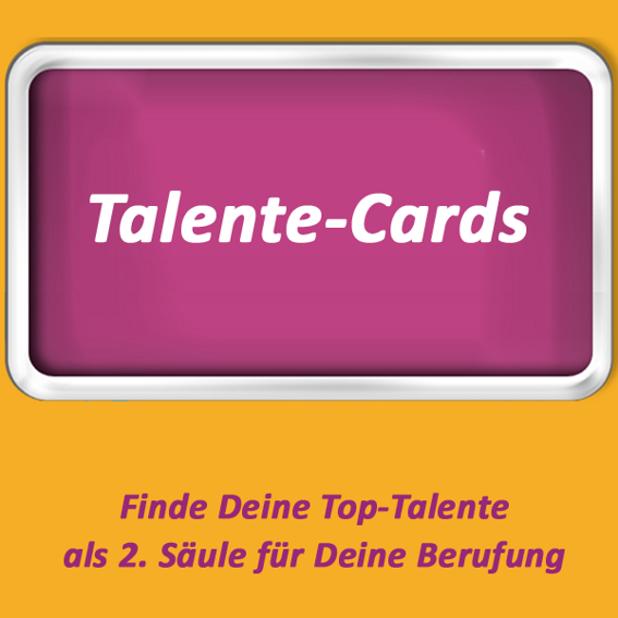 1 Set Talente-Cards