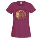 PurPur T-Shirt in burgund (Damen)