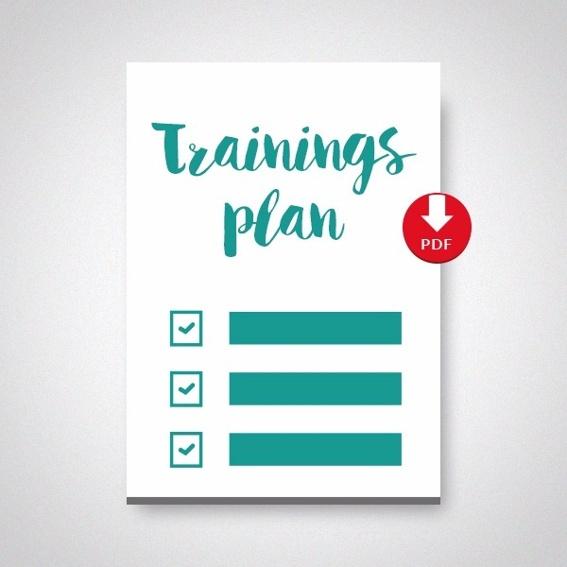 Trainingsplan-Vorlage als PDF