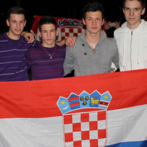Nationalflagge  Kroatiens