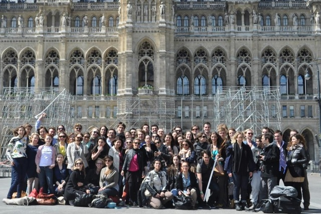 Tagung internationaler Journalistik-Studenten in Köln