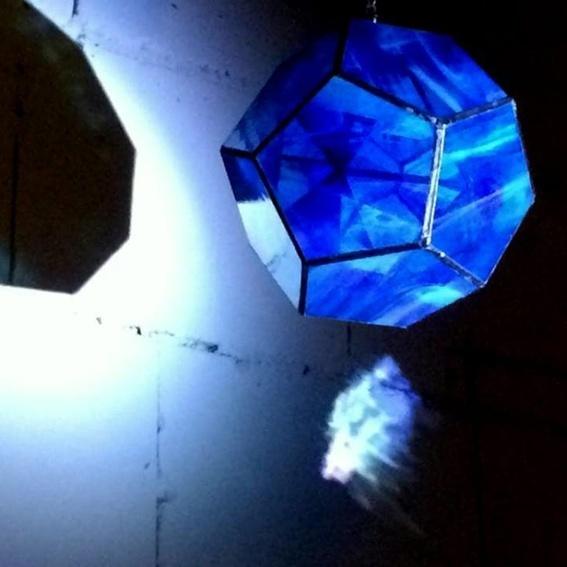 """Kunst: Lichtinstallation """"Plato"""""""