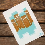 selbstgestaltete Postkarten