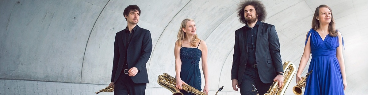 Arcis Saxophon Quartett - Debüt-CD