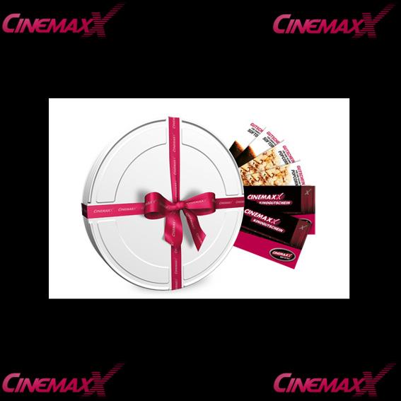 CINEMAXX Gutscheinbox + Mini Basketball