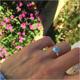 1 Ring mit Sterlingsilber