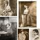 Vintage-Portrait als Druck + Buch