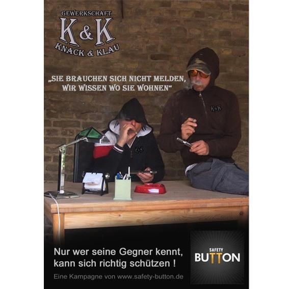 "Postkarte ""Knack & Klau"""