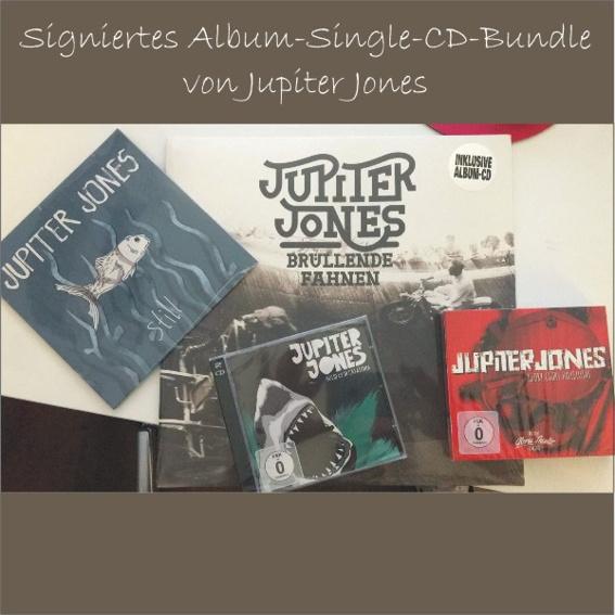 signiertes Jupiter Jones Bundle