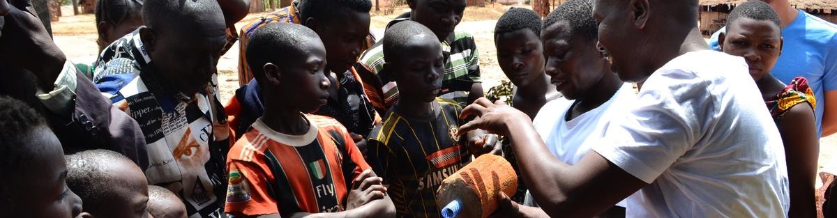Wasserfilter in Tansania