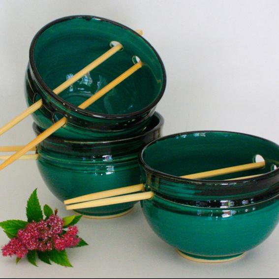 2 Reisschalen in Wunschfarbe
