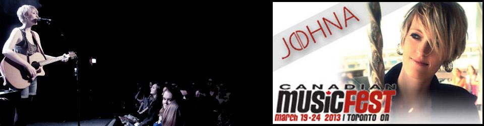 """JOHNA - Einladung zum """"Canadian music fest"""" in Toronto"""