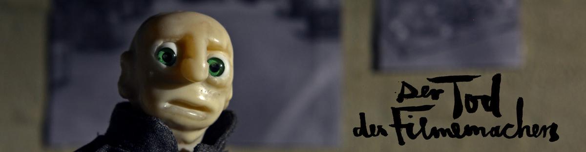 Der Tod des Filmemachers (Stop-Motion-Animation)
