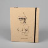 """Fallenbird"" (black/carton) – Swiss Brochure"