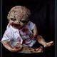 Handgefertigte Horrorpuppe