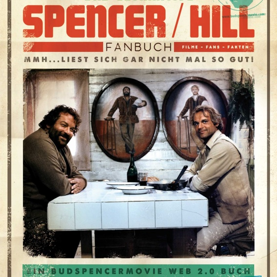 Das Ultimative Spencer/Hill-Fanbuch plus Eintragung darin plus Poster  !