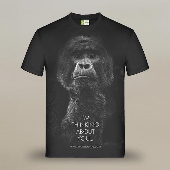 Exklusives Gorilla-T-Shirt