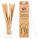 Bambus-Trinkhalme