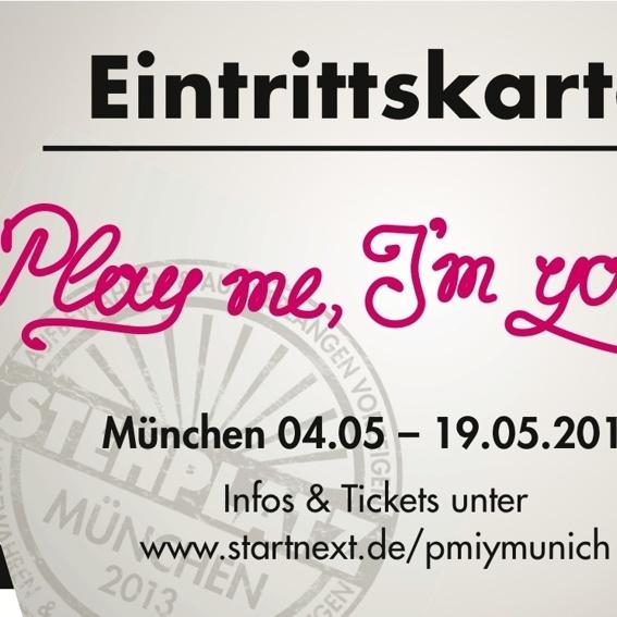 """2 x """"Eintrittskarten"""" Flyer und ewiger Ruhm"""