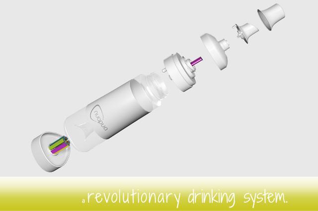 nuapua - Revolutionäres Trinksystem. Rein natürlich und mit Stil