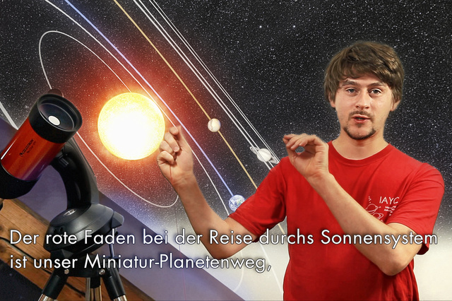SPACE mit allen Sinnen!