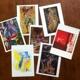 Kunstpostkarten Set I
