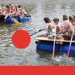 Floßbau-Teamerlebnis