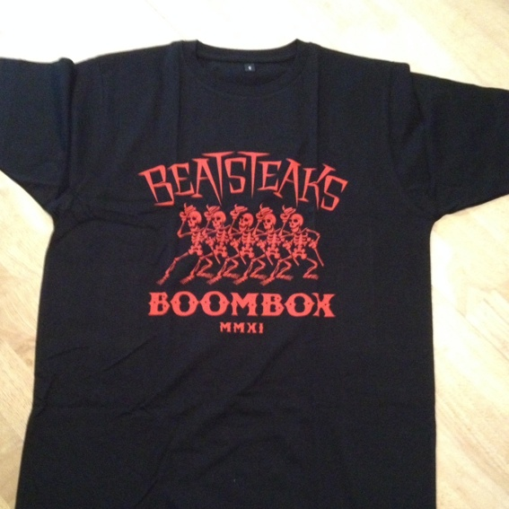 Beatsteaks Paket: Shirt + Autogrammkarte + Updates