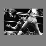 """Wandbild """"Wrestling"""" - analoge Fotografie"""