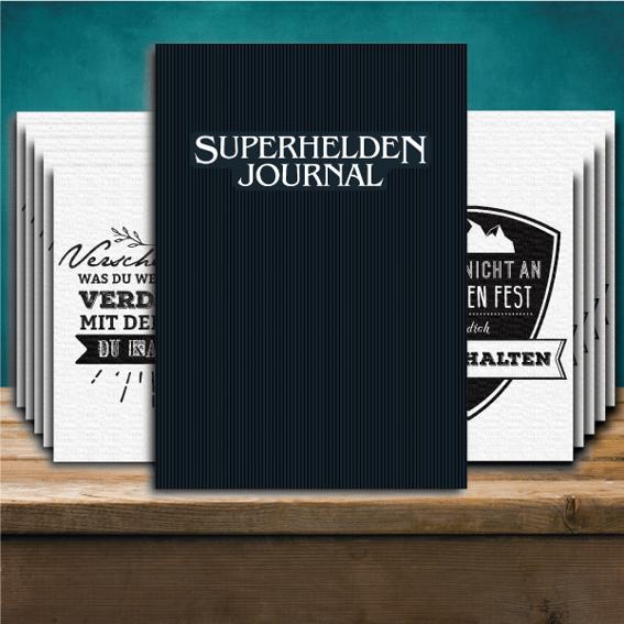 """""""Das Journal Spruchkarten"""" Pack"""