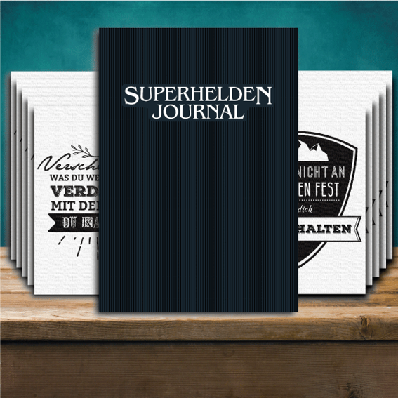 """Das Journal Spruchkarten"" Pack"