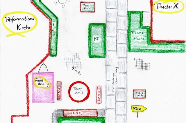 Der Wiclef-Platz entsteht