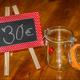 30€-Einkaufsguschein plus Glas zum Befüllen