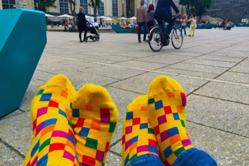The socks that rock diversity!