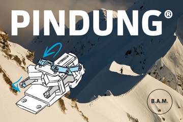 PINDING® - innovative skitouring/freeride binding