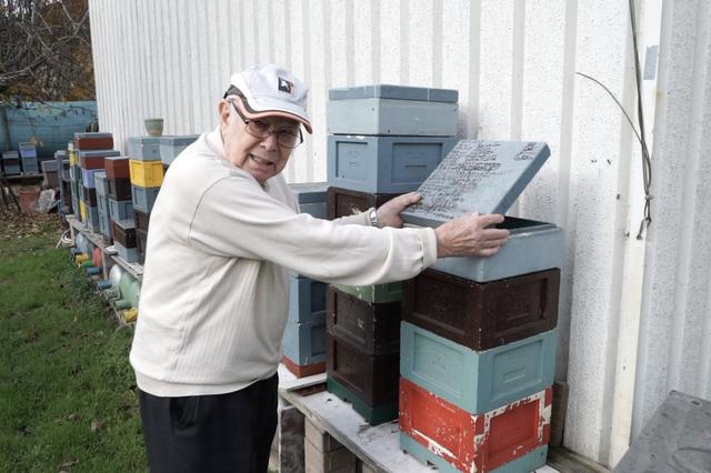 Raymond Zimmer und die Welt der Bienen