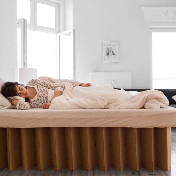 Bett 40 cm hoch