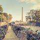 Goldene FahrradGarderoben-Marke für 3 Jahre