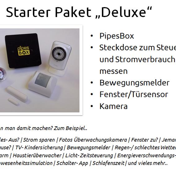"PipesBox + Starterpaket ""Deluxe"""