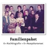 Familien-Paket + Nennung im Buch